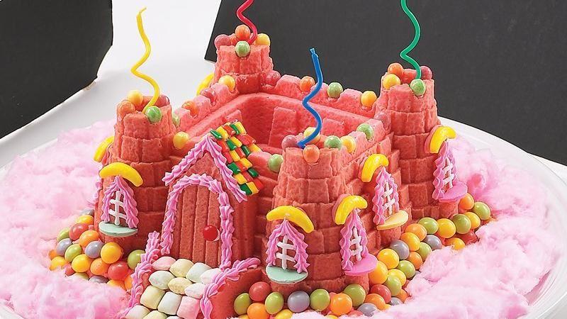 PRINCESS CASTLE BUNDT CAKE!!