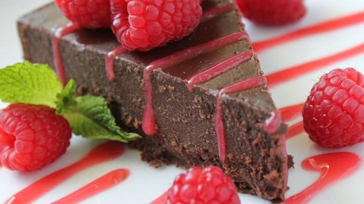 Healthy Chef Flourless Chocolate Cake