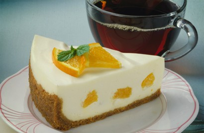 NO-BAKE ORANGE CREAM CHEESECAKE!!