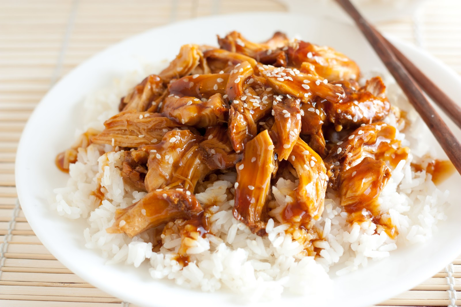 CROCK-POT CHICKEN TERIYAKI!!
