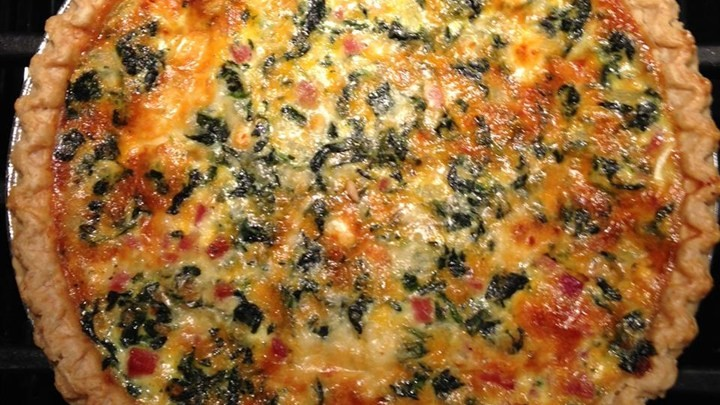 TRANSFORMED SPINACH MUSHROOM QUICHE!!