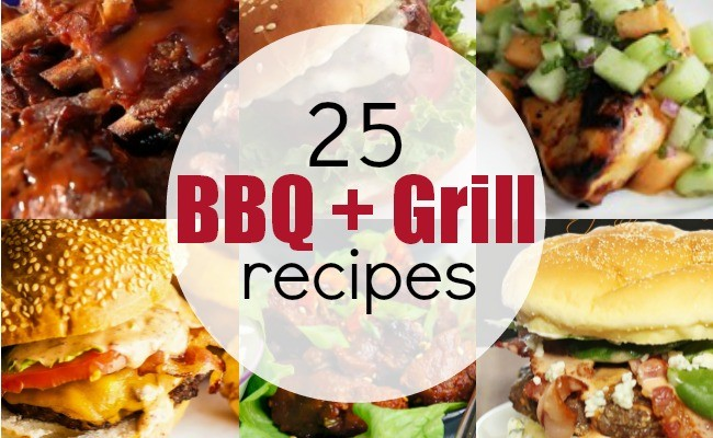 25 BEST GRILL RECIPES!!