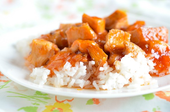 EASY 3 INGREDIENT SWEET & SOUR CHICKEN!!
