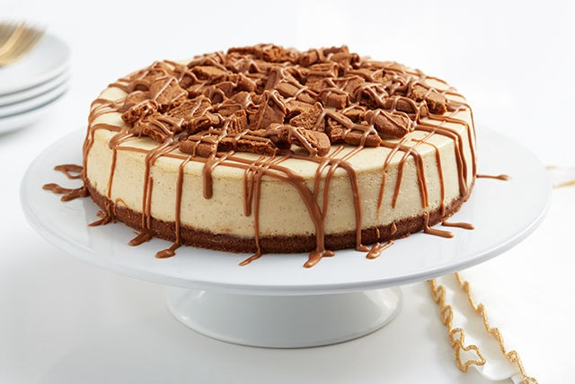 COOKIE BUTTER CHEESECAKE!!