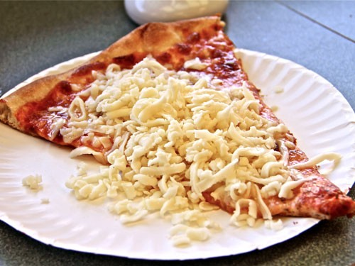 LITTLE VINCENT'S COLD CHEESE PIZZA!!