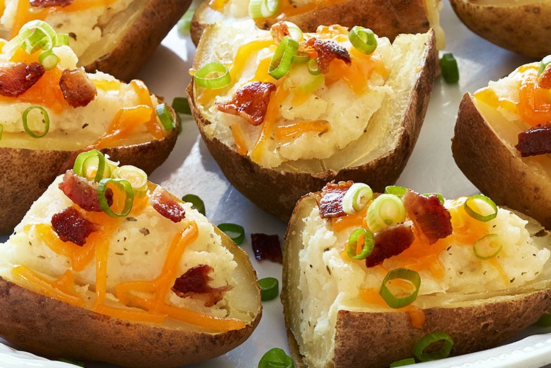 RANCH POTATO SKINS!!