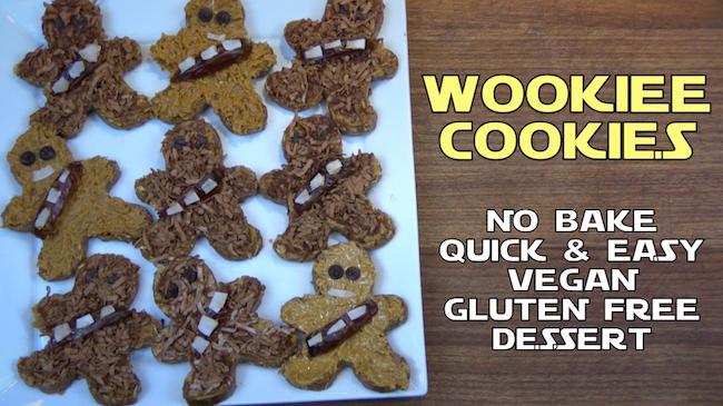 NO-BAKE, GLUTEN-FREE, VEGAN WOOKIE COOKIES!!