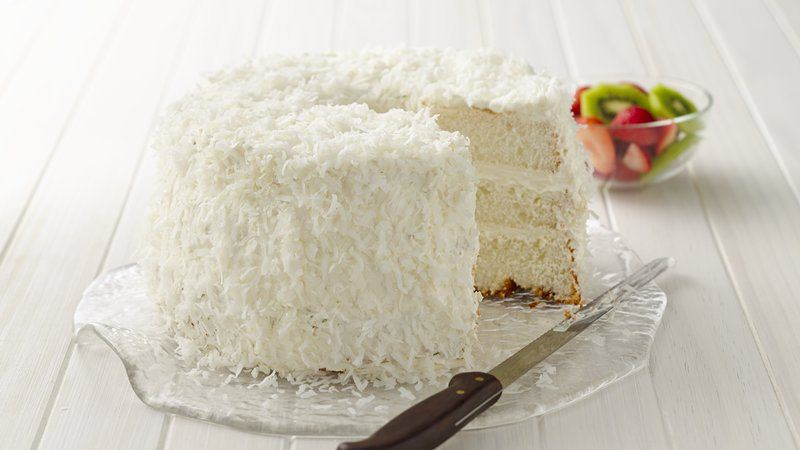 KEY LIME COCONUT ANGEL CAKE!!