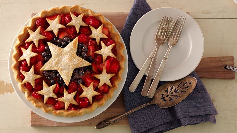 TRIPLE BERRY PIE!!