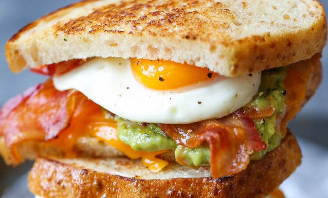 GUACAMOLE BREAKFAST SANDWICH!!