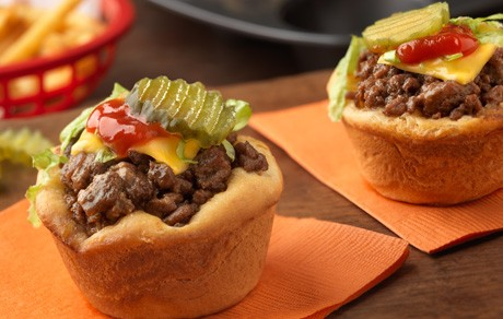 CHEESEBURGER CUPS!!