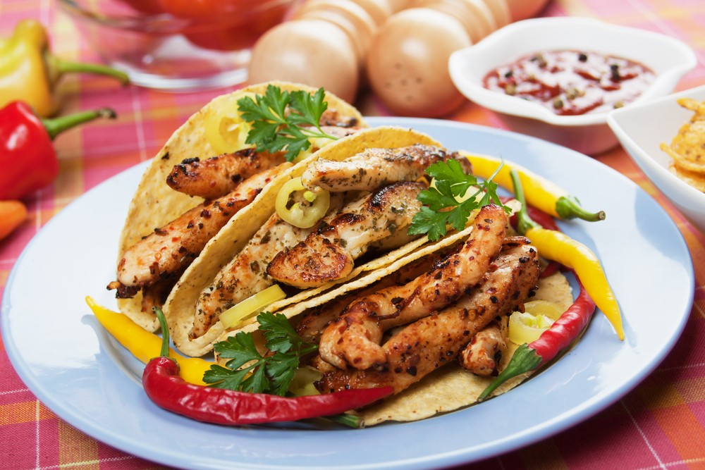 CITRUS-MARINATED CHICKEN TACOS!!