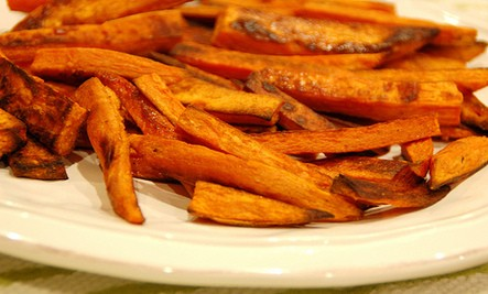 TANGY SWEET POTATO FRIES!!