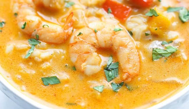 EASY THAI SHRIMP SOUP!!