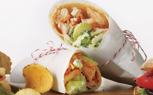 Once You Taste This Wrap, You'll Think Twice Before Ordering a Fat-Laden Happy-Hour Plate of Wings!