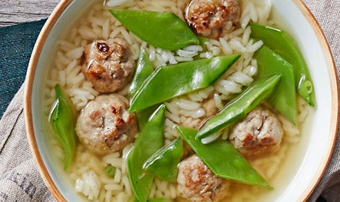 HERBED MEATBALL SOUP!!