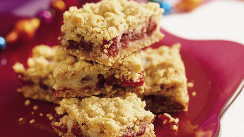 SOUR CREAM CRANBERRY BARS!!
