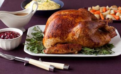 THE WORLD'S SIMPLEST THANKSGIVING TURKEY!!