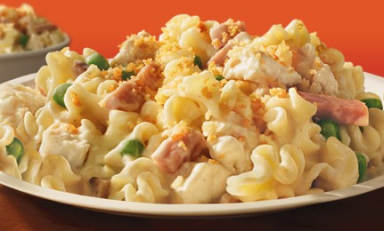 DELIGHTFUL CHICKEN CORDON BLEU PASTA!!