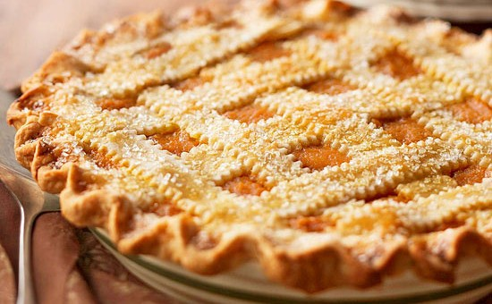 LATTICE-TOPPED SPICED PUMPKIN PIE!!