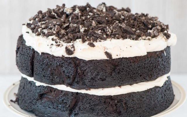 EXTREME COOKIES 'N CREAM OREO CAKE!!
