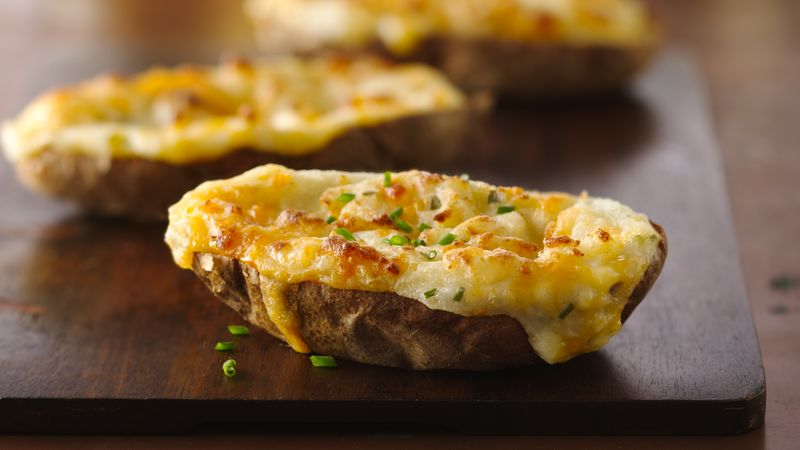 AMAZING TWICE BAKED POTATO!!