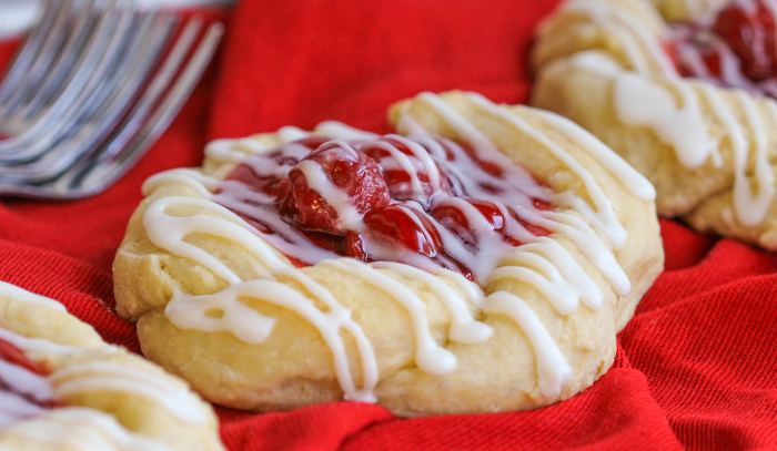 OVERNIGHT CHERRY DANISH!!