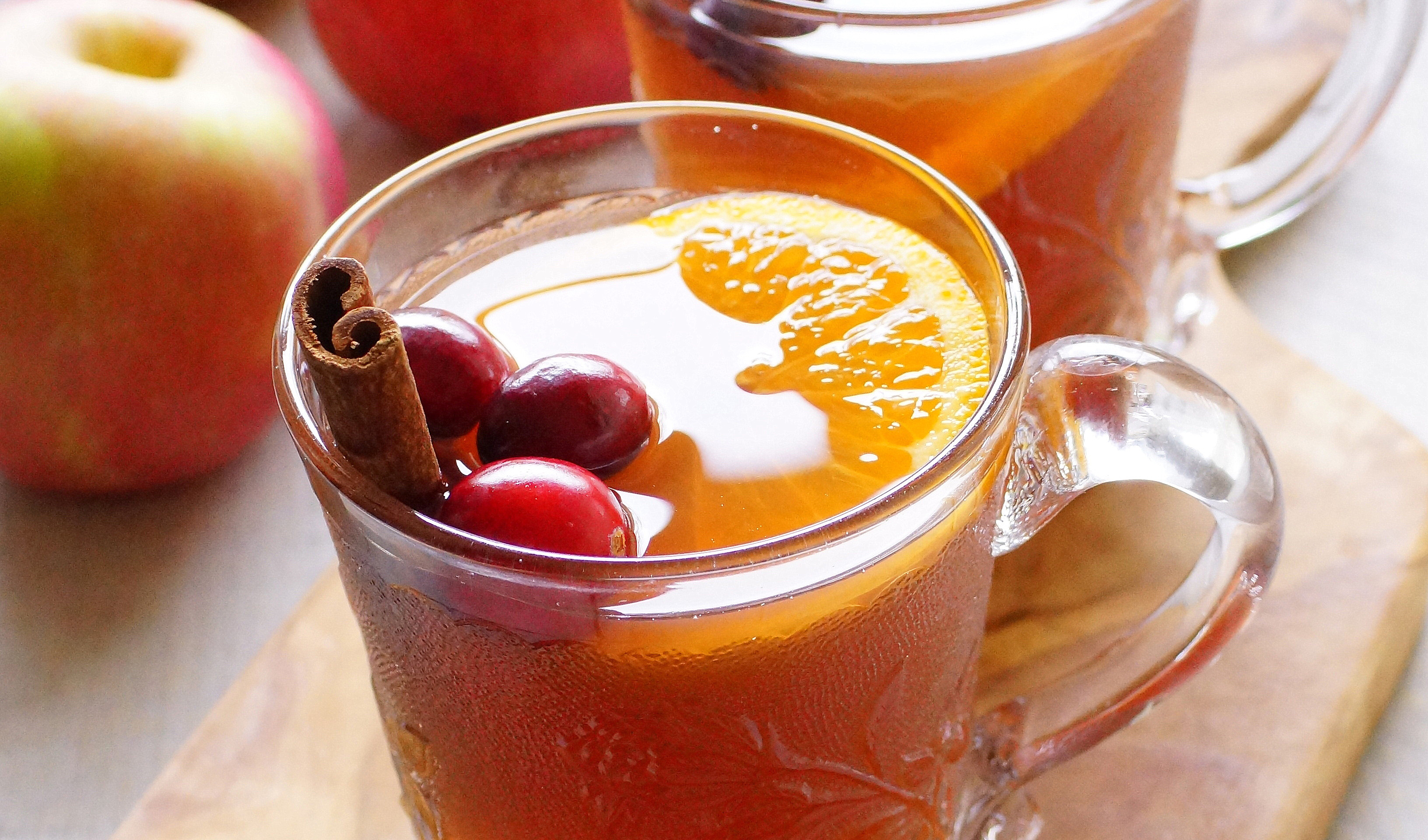 A MOST INTERESTING HOT APPLE CIDER RECIPE!!